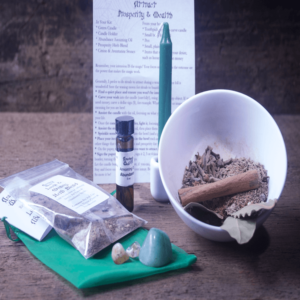Wealth Spell Ritual Kit
